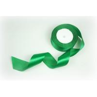 Лента атласная, 40мм*23м (цвет зеленый)