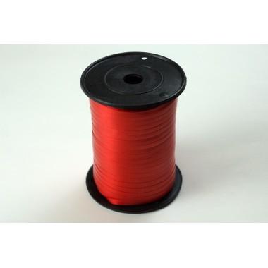 Лента полипропиленовая, 0,5см*500м (цвет красный)