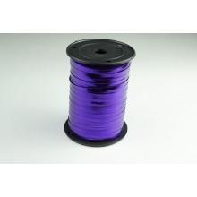 Лента металлизированная полипропиленовая, 0,5см*229м (цвет фиолетовый)