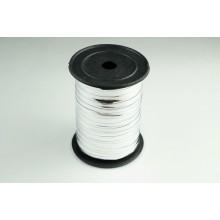 Лента металлизированная полипропиленовая, 0,5см*229м (цвет серебро)
