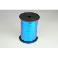 Лента металлизированная полипропиленовая, 0,5см*229м (цвет синий)