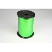 Лента металлизированная полипропиленовая, 0,5см*229м (цвет зеленый)