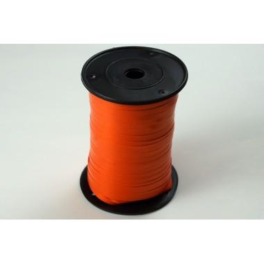 Лента полипропиленовая, 0,5см*500м (цвет оранжевый)
