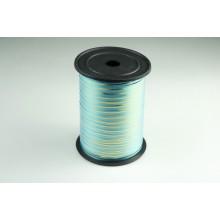 Лента полипропиленовая, 0,5см*229м (цвет голубой с золотым)