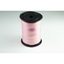 Лента полипропиленовая, 0,5см*229м (цвет ярко-розовый с золотым)
