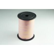 Лента полипропиленовая, 0,5см*229м (цвет розовый с золотым)