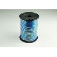 Лента полипропиленовая, 0,5см*229м (цвет синий с золотым)
