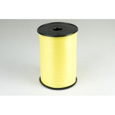 Лента полипропиленовая, 0,5см*500м (цвет желтый)