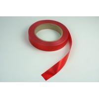 Лента полипропиленовая, 2см*50м (цвет красный)