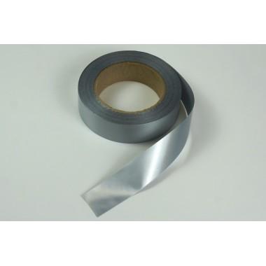 Лента полипропиленовая, 3см*50м (цвет серебро)