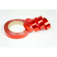 Лента металлизированная полипропиленовая, 2см*45м (цвет красный)