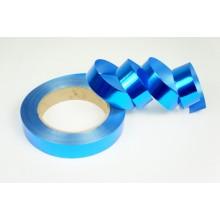 Лента металлизированная полипропиленовая, 2см*45м (цвет синий)