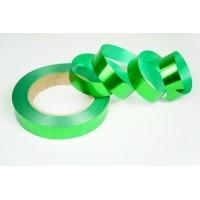Лента металлизированная полипропиленовая, 2см*45м (цвет зеленый)