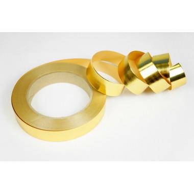Лента металлизированная полипропиленовая, 2см*45м (цвет золотой)