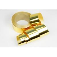 Лента металлизированная полипропиленовая, 5см*45м (цвет золотой)