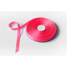 Лента репсовая, 16мм*91,5м (цвет ярко-розовый)