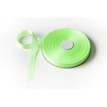 Лента репсовая, 20мм*91,5м (цвет ярко-салатовый)