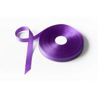 Лента репсовая, 20мм*91,5м (цвет фиолетовый)