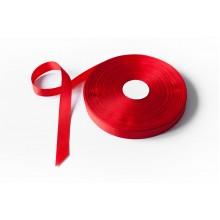 Лента репсовая, 20мм*91,5м (цвет красный)