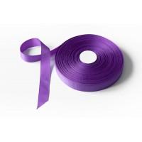 Лента репсовая, 26мм*91,5м (цвет фиолетовый)
