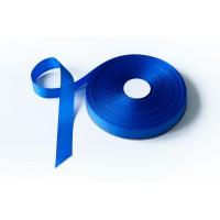 Лента репсовая, 26мм*91,5м (цвет синий)