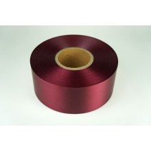 Лента сатиновая (цвет бордовый), 80мм*200м