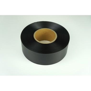 Лента сатиновая (цвет черный), 60мм*200м