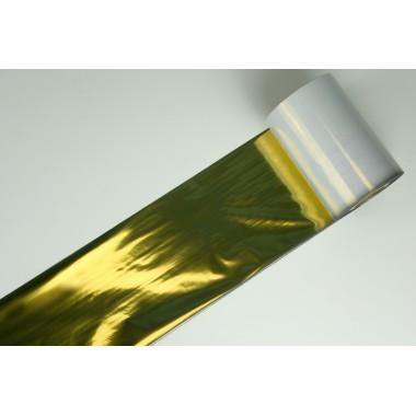 Риббон (термотрансферная лента), TPS 502 Resin (золото), 64мм*200м