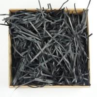 Стружка бумажная, 100гр (цвет черный)