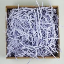Стружка бумажная, 100гр (цвет сиреневый)
