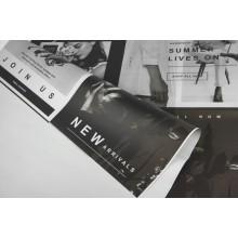 """Пленка листовая матовая """"фотоколлаж"""" (цвет серый), 58см*58см, 65 мкм 20шт. в уп"""