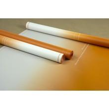"""Пленка матовая корейская """"градиент"""", (цвет оранжевый) 58см*10м, 50мкм"""