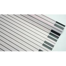 """Пленка матовая корейская """"клавиши"""" 58см*10м (цвет розовый)"""