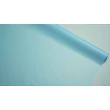 Пленка матовая корейская однотонная 58см*10м (цвет голубой)