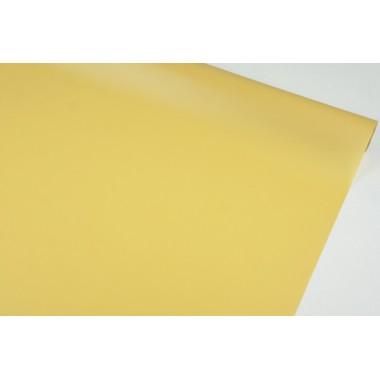 Пленка матовая корейская однотонная 58см*10м (цвет карамельный)