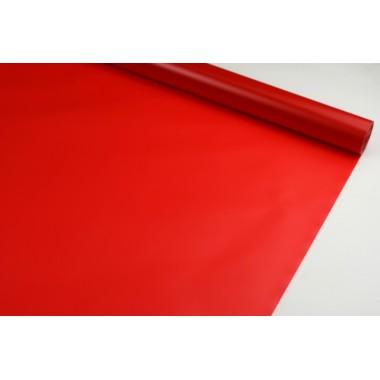 Пленка матовая корейская однотонная 58см*10м (цвет красный)