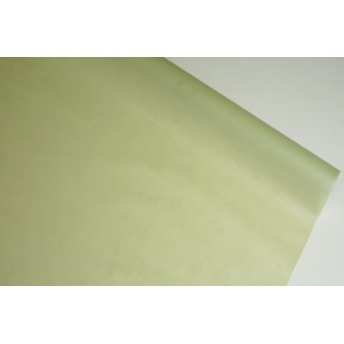 Пленка матовая корейская однотонная 58см*10м (цвет оливковый)