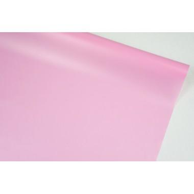 Пленка матовая корейская однотонная 58см*10м (цвет розовый)