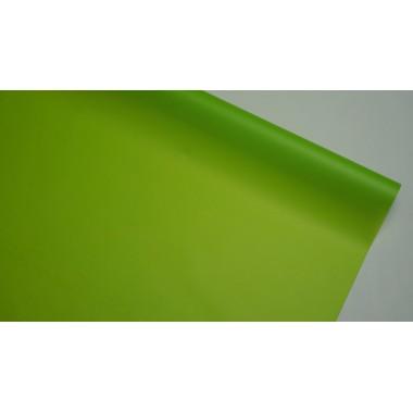 Пленка матовая корейская однотонная 58см*10м (цвет салатовый)