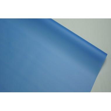 Пленка матовая корейская однотонная 58см*10м (цвет синий)