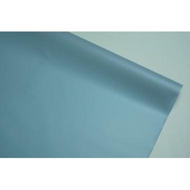 Пленка матовая корейская однотонная 58см*10м (цвет светло-серый)