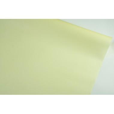 Пленка матовая корейская однотонная 58см*10м (цвет желтый)