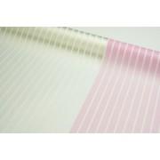 """Пленка матовая корейская """"полосы"""" 58см*10м (цвет розовый)"""