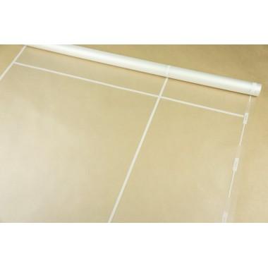 Пленка матовая корейская с окантовкой 58см*10м (цвет белый)