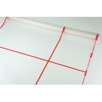Пленка матовая корейская с окантовкой 58см*10м (цвет красный)