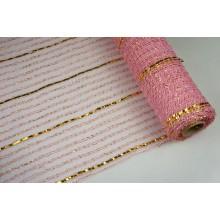 """Сетка """"диамант"""", 53см*7ярд (цвет розовый)"""