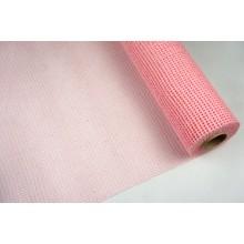 Сетка джутовая, 53см*6ярд (цвет розовый)