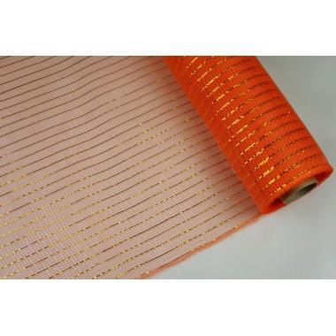 """Сетка """"поло"""", 53см*7ярд (цвет оранжевый)"""