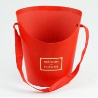 Конус макси для цветов (красный), размер 17см*14см*22см