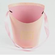 Конус макси для цветов (розовый), размер 17см*14см*22см